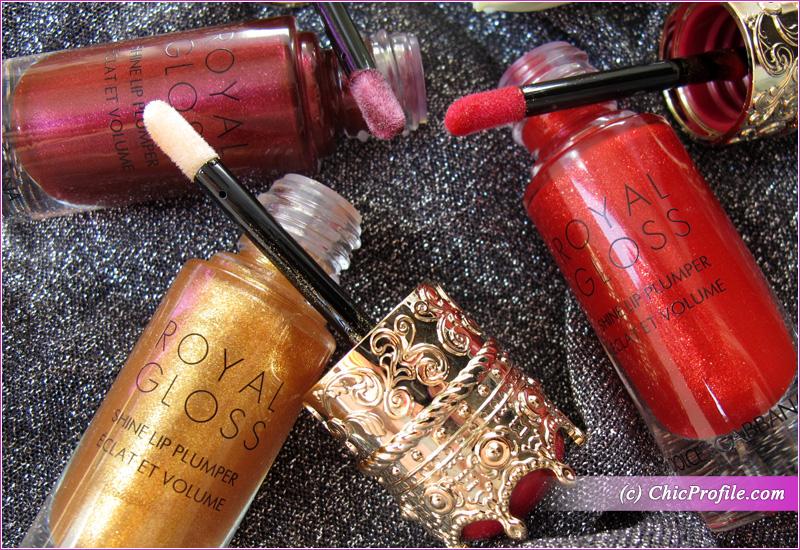 Dolce & Gabbana Royal Gloss Shine Lip Plumpers Details
