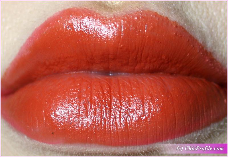 L'Absolu Rouge Intimatte (169) Love Rendez-Vous Lip Swatch