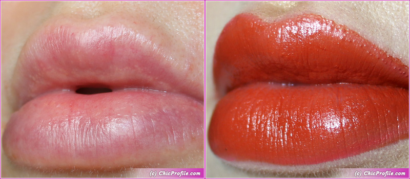 L'Absolu Rouge Intimatte (169) Love Rendez-Vous Lip Swatches