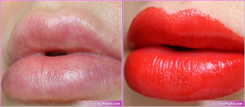 L'Absolu Rouge Intimatte (130) Not Flirting Lip Swatches