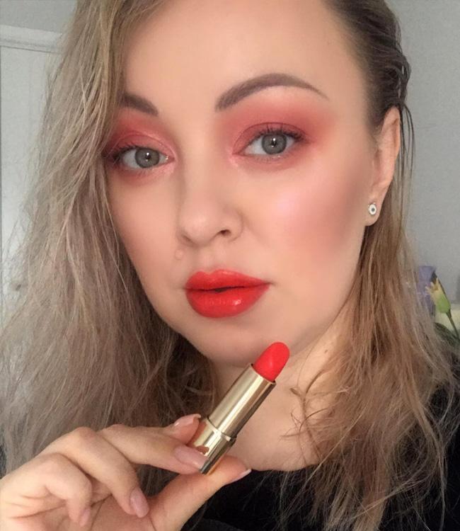 Lancome L'Absolu Rouge Intimatte (130) Not Flirting Makeup