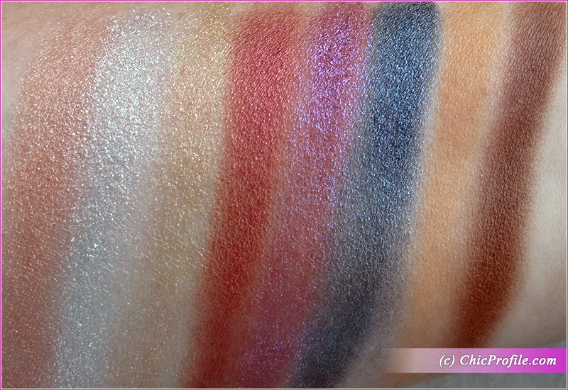 SUQQU Holiday Eyeshadow Palette Swatches