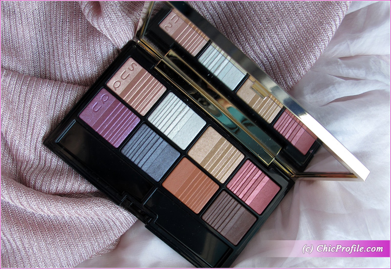 SUQQU Holiday Eyeshadow Palette Open