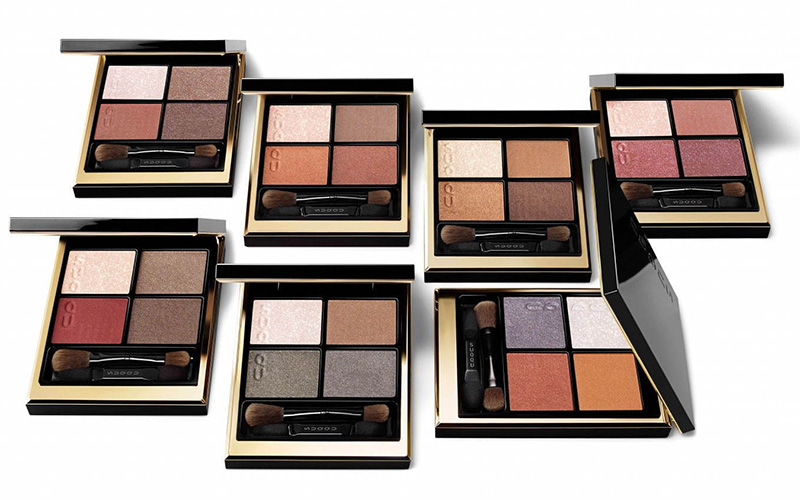 SUQQU Spring 2021 Color Collection Eyeshadow Quads