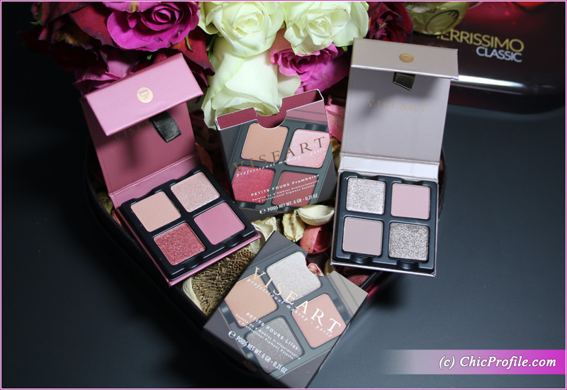 Viseart Lilas Petits Fours Eyeshadow Palettes Framboise Lilas