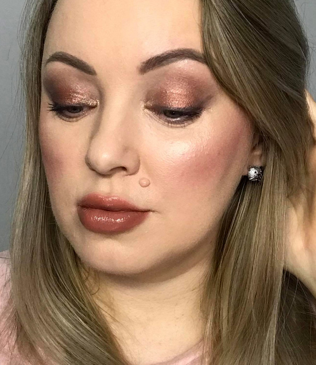 Charlotte Tilbury Diva Lights Makeup