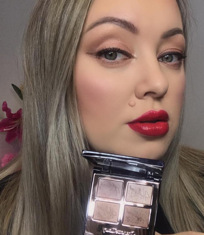 Charlotte Tilbury Star Aura Hollywood Flawless Eye Filter Festive Makeup