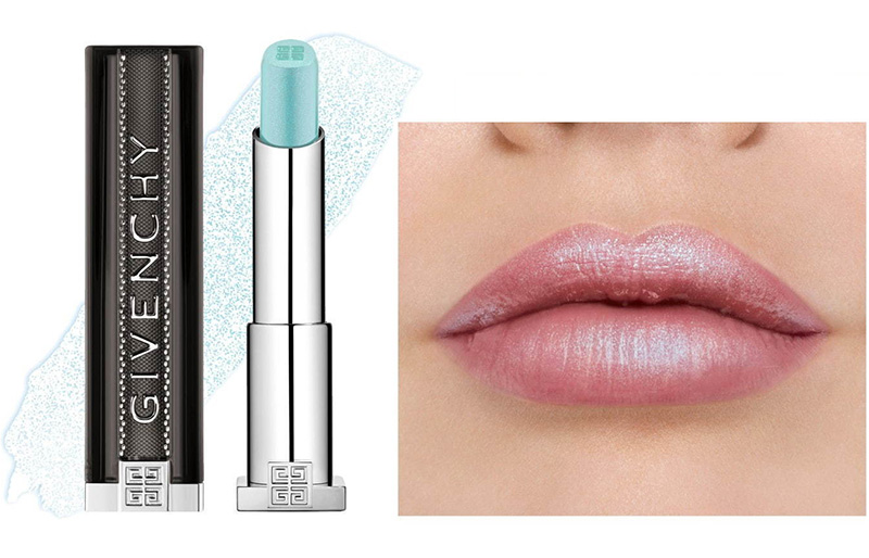 Givenchy Rouge Interdit Sky Blue Swatch