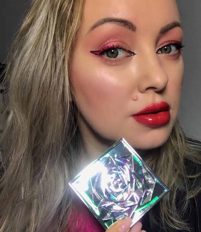 Lancome La Rose Face Highlighter Makeup