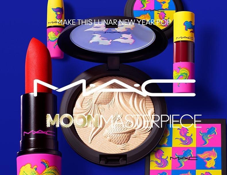 MAC Moon Masterpiece Spring 2021 Collection