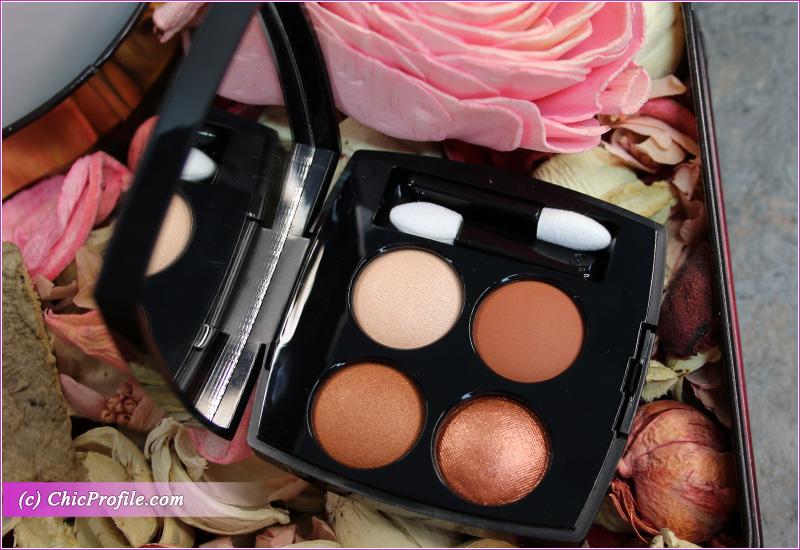 Chanel Bouquet Ambre (372) Les 4 Ombres Multi-Effect Quadra Eyeshadow Open