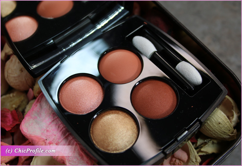Chanel Golden Meadow (368) Les 4 Ombres Multi-Effect Quadra Eyeshadow Close Up
