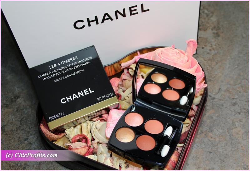Chanel Golden Meadow (368) Les 4 Ombres Multi-Effect Quadra Eyeshadow