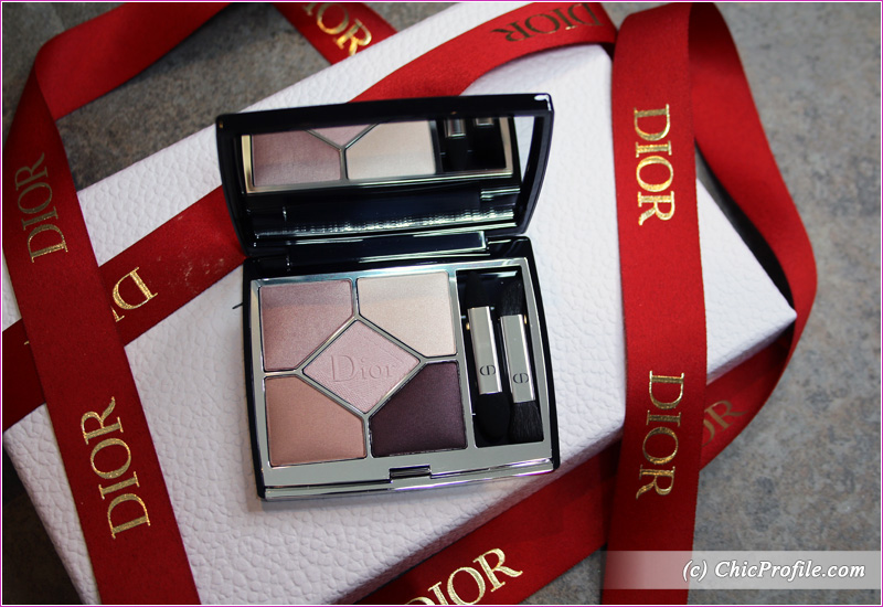 Dior Blooming Bouquet (639) 5 Couleurs Couture Eyeshadow Palette Open