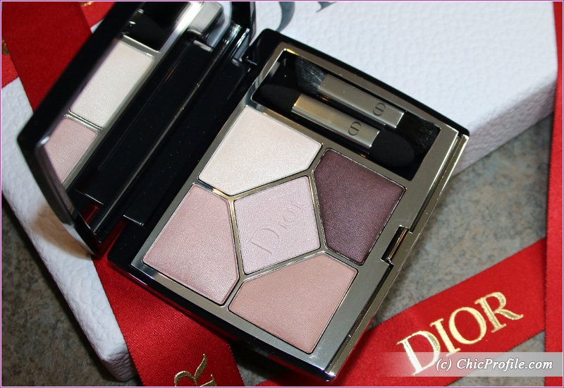 Dior Blooming Bouquet (639) 5 Couleurs Couture Eyeshadow Palette Details