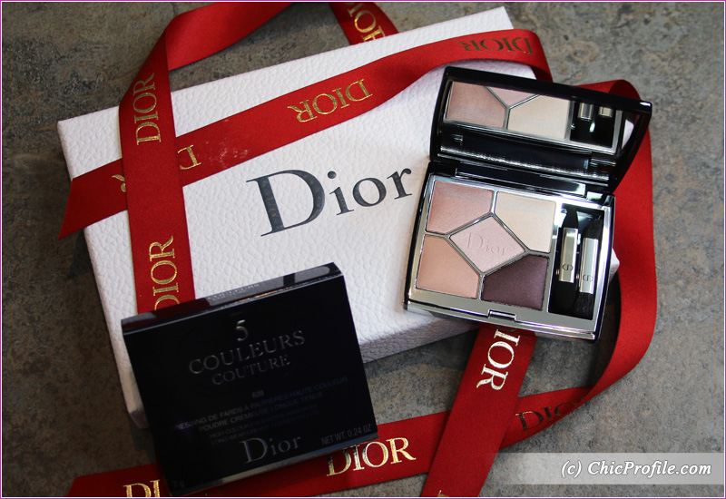 Dior Blooming Bouquet (639) 5 Couleurs Couture Eyeshadow Palette Review