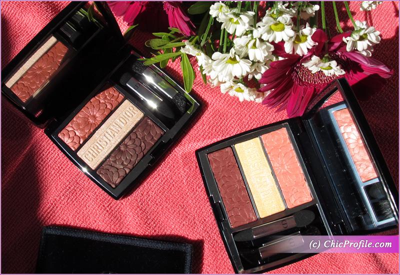 Dior Trioblique Pure Glow Eyeshadow Palettes