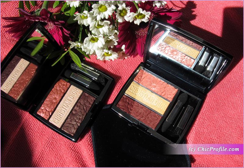 Dior Trioblique Pure Glow Eyeshadow Palettes Open