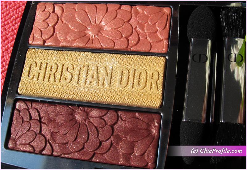 Dior Trioblique Pure Glow (643) Pure Petals Eyeshadow Palette Details