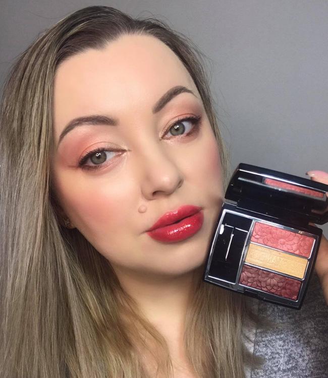 Dior Trioblique Pure Glow (643) Pure Petals Eyeshadow Palette Spring Eye Makeup