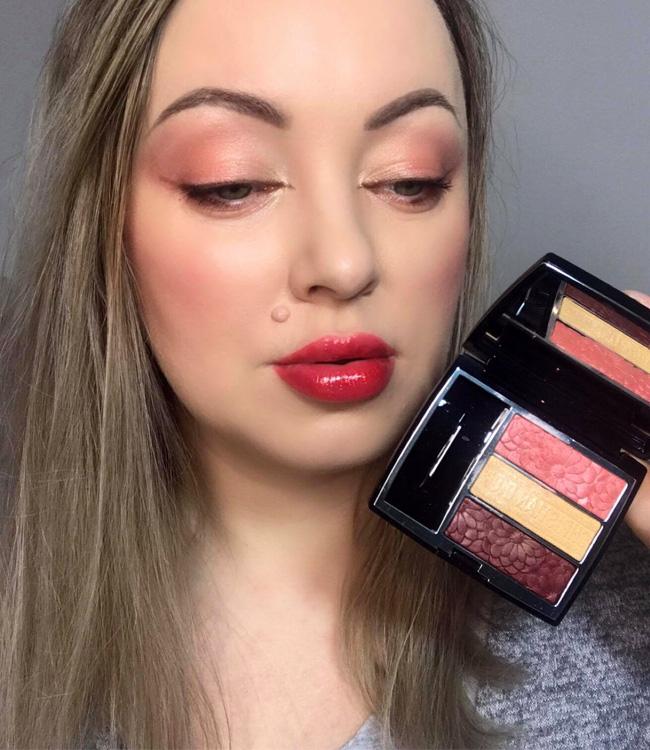 Dior Trioblique Pure Glow (643) Pure Petals Eyeshadow Palette Makeup