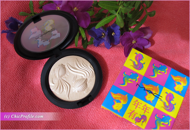 MAC Moon Masterpiece Double Gleam Extra Dimension Skinfinish Open