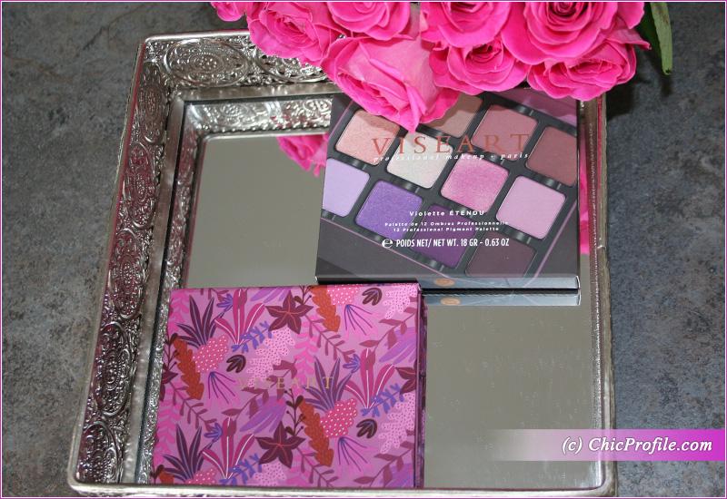 Viseart Violette Etendu Palette Packaging