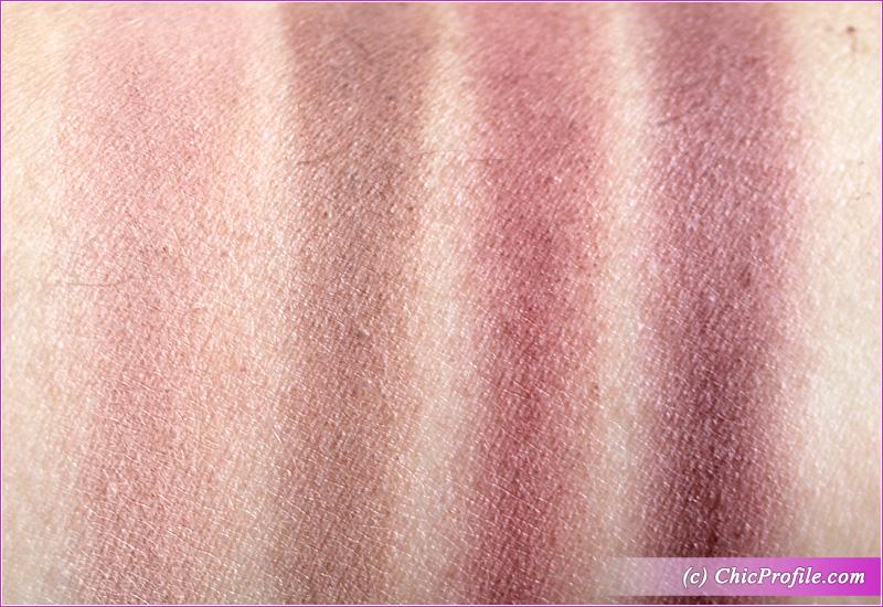 Viseart Violette Etendu Palette Swatches