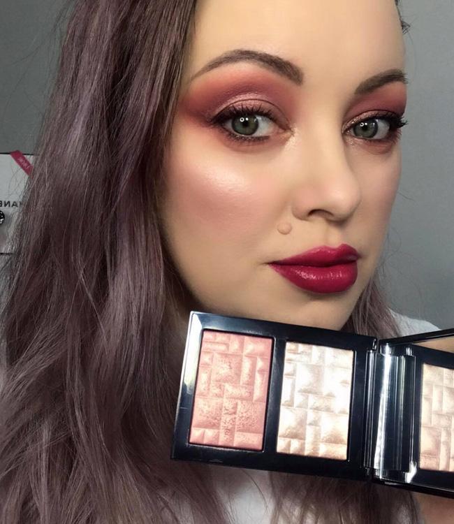 Bobbi Brown Pink Glow & Sunset Glow Highlighting Powder Duo Makeup