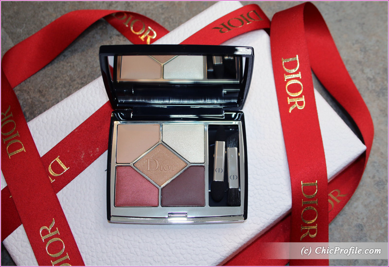 Dior Wild Brown (529) 5 Couleurs Couture Eyeshadow Palette Open
