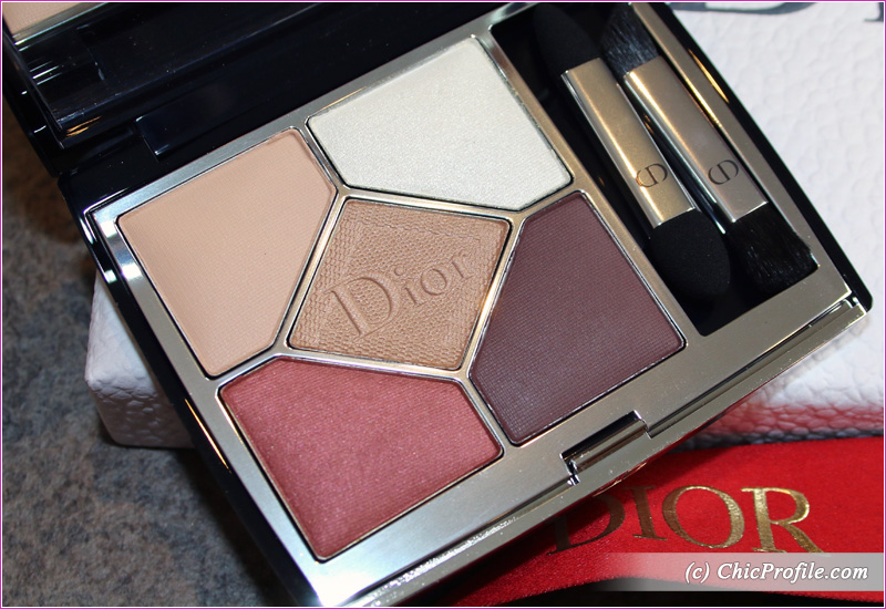 Dior Wild Brown (529) 5 Couleurs Couture Eyeshadow Palette Details