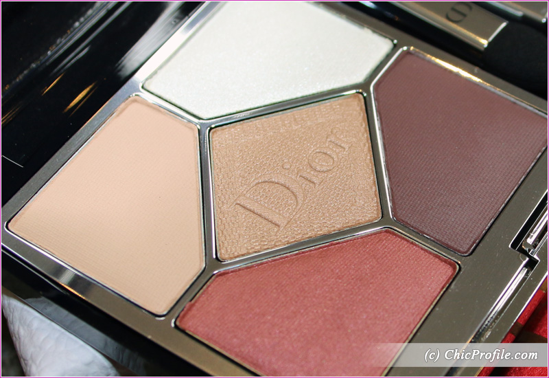 Dior Wild Brown (529) 5 Couleurs Couture Eyeshadow Palette Close Up