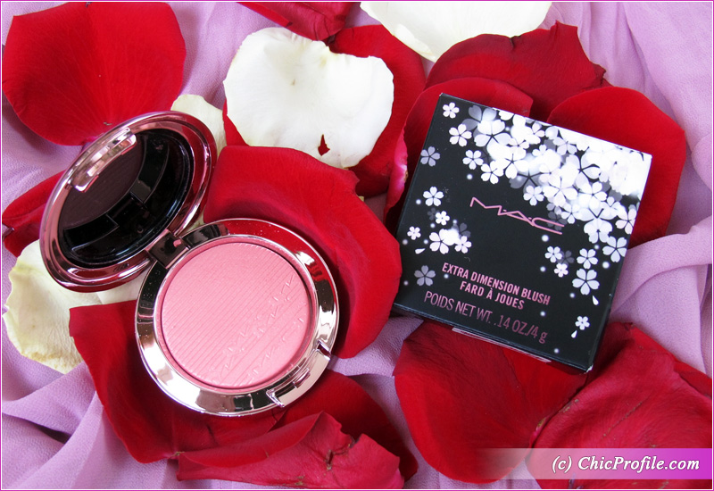 MAC Look, Don't Touch! Extra Dimension Blush