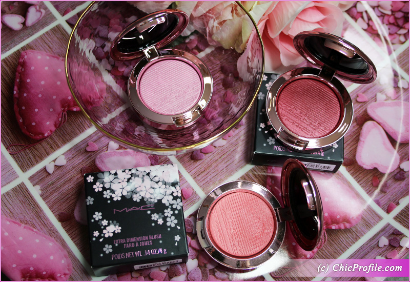 MAC Under My Plum, Dilly-Dolly Extra Dimension Blush Packaging