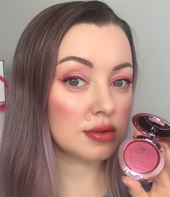 MAC Under My Plum Extra Dimension Blush Makeup