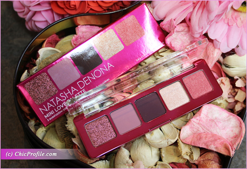 Natasha Denona Love Mini Eyeshadow Palette Packaging