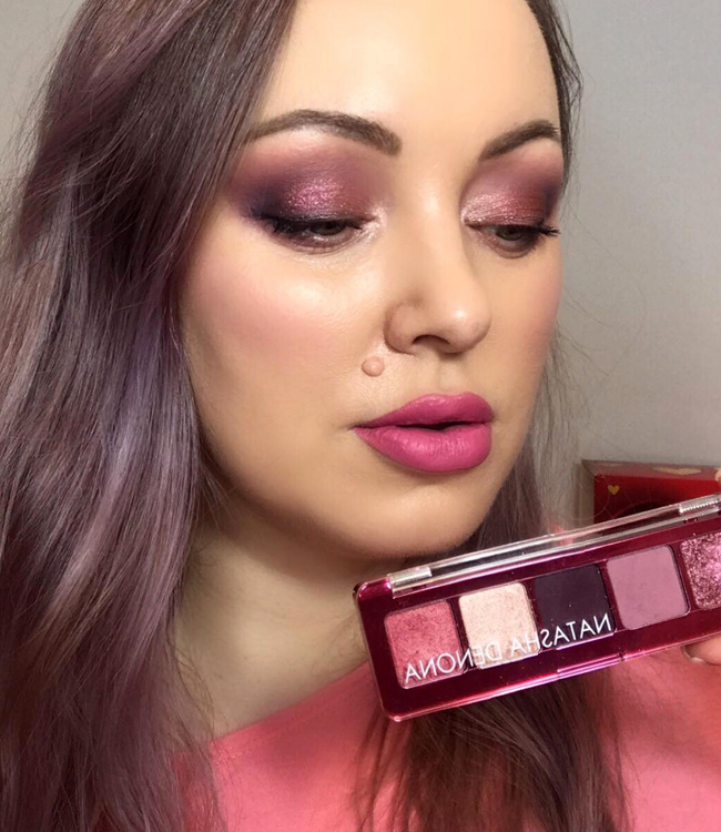 Natasha Denona Love Mini Eyeshadow Palette Eye Makeup