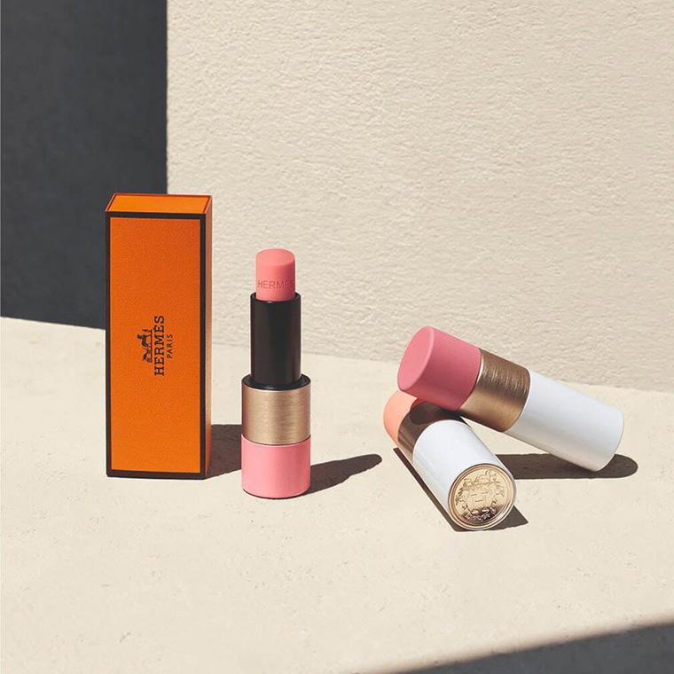 Hermes Rose Matte Lipsticks
