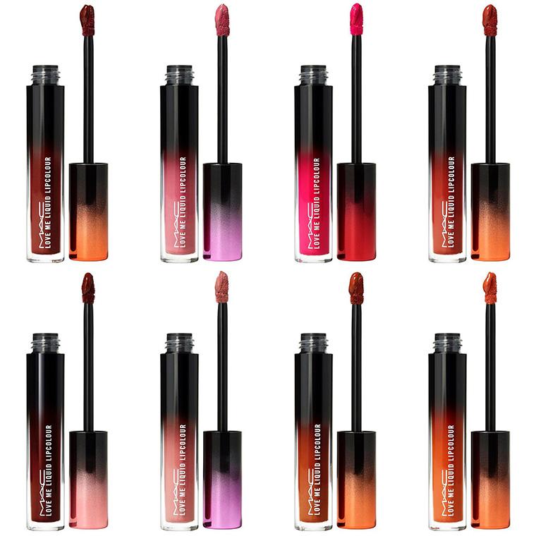 MAC Love Me Liquid Lipcolour Shades