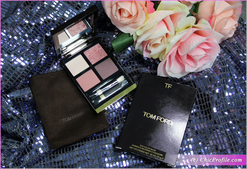 Tom Ford Insolent Rose Eyeshadow Quad Packaging