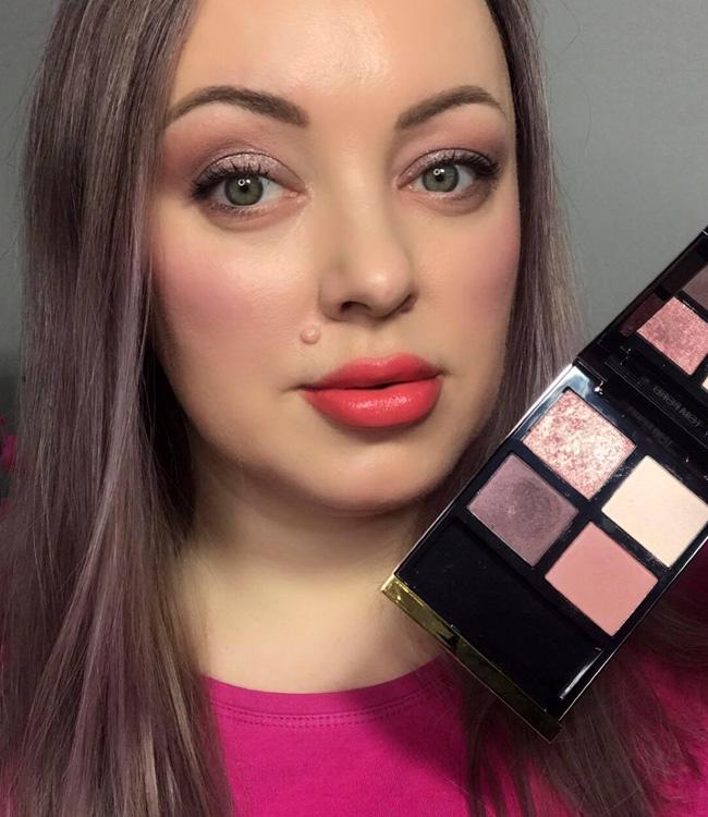Tom Ford Insolent Rose Eyeshadow Quad Makeup
